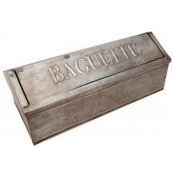 """Boîtes à pain """"Baguette"""" en zinc"""