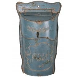 "Mailbox ""Post"" blue"