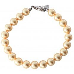 Bracelet en perles Swarovski® Gold Pearl
