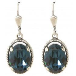 Boucles d'oreilles à cristaux Swarovski® Montana