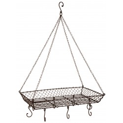 Vintage support Iron wire for hanging casseroles
