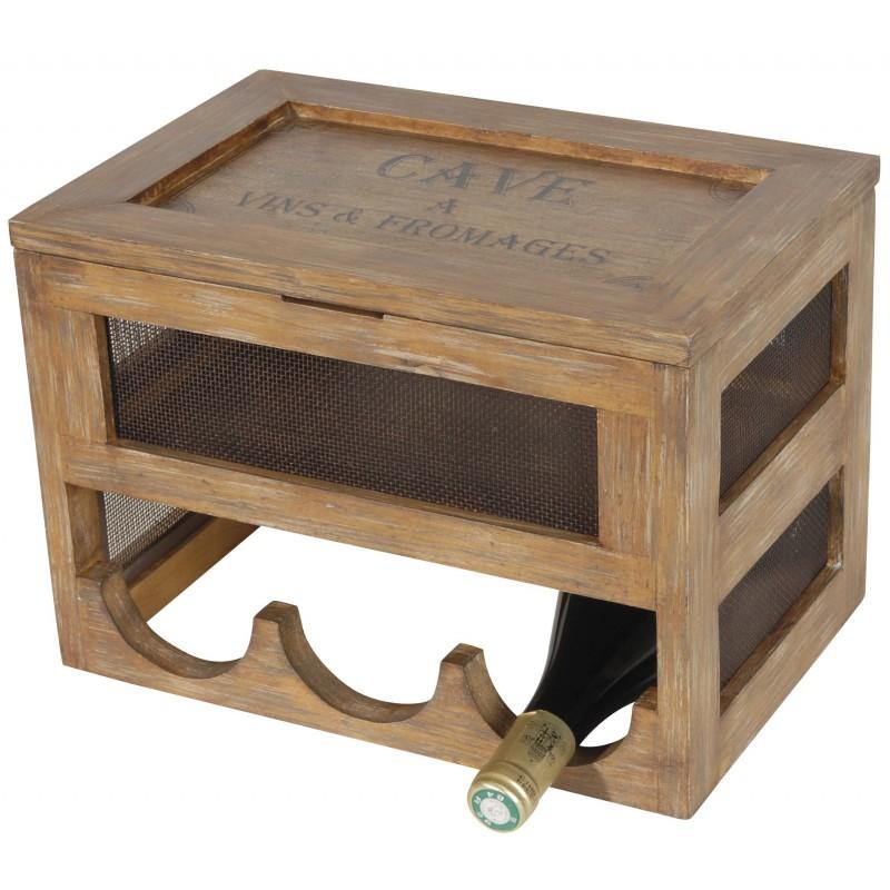cave vin et fromage en bois et grillage id ale pour une. Black Bedroom Furniture Sets. Home Design Ideas