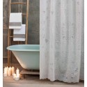 Vinyl shower curtain white Richelieu