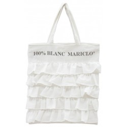 Shopping bag Fru Fru 100% Blanc Mariclo