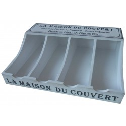 """Range couverts """"La Maison du Couvert"""""""