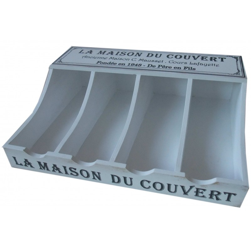 Cutlery holder la maison du couvert available on for Dresser table couverts