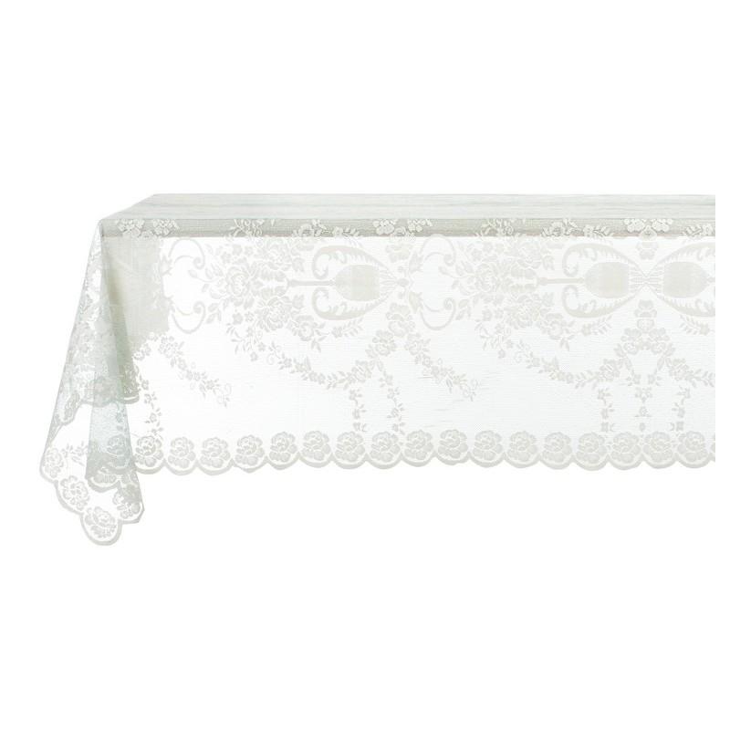 nappe adelma collection par blanc mariclo id al pour une d co shabby chic et romantique. Black Bedroom Furniture Sets. Home Design Ideas