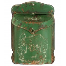 """Boîte aux lettres """"Post"""" verte"""