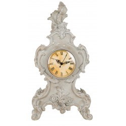 Horloge de table de la collection Cornici Blanc