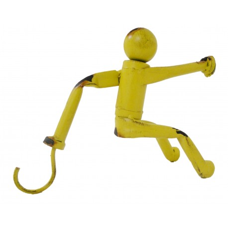 Crochet mannequin jaune