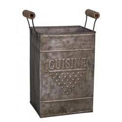"""Porte-couverts """"Cuisine"""" avec poignées bois"""