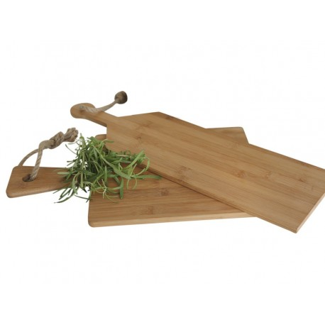 Tapas board bamboo 40 x 24 cm