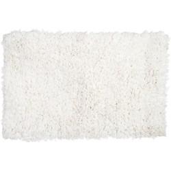 Tapis posidonia blanc Romantic 50 x 80 cm