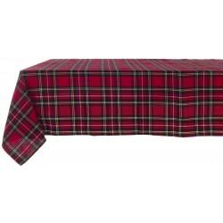 Nappe rouge à carreaux Rudloph 160 x 220 cm