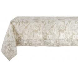 Nappe Broccato Jacquard beige 157 x 320 cm