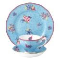 Service 3 pièces Honey Bunny Collection avec tasse, sous tasse et assiette