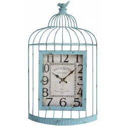 Clock Birdcage green