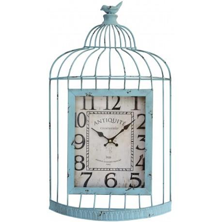 Clock Birdcage green