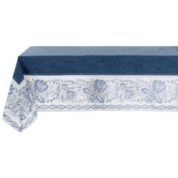 "Nappe ""Denim Collection"" 150 x 220 cm à bords"