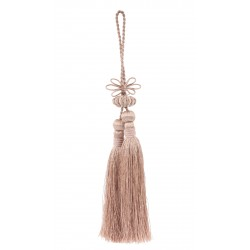 Double tassel in pink