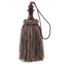 Brown mix tassel