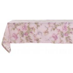 Nappe Victorian Rose 150 x 200 en coton