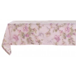 Victorian Rose tablecloth 150 x 200 in cotton