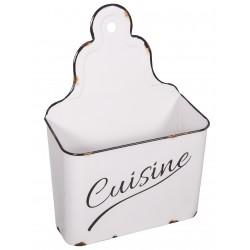 Boîte murale Cuisine blanc antique