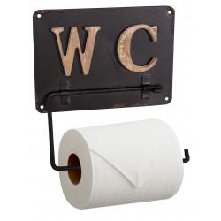 Dérouleur de papier toilette WC