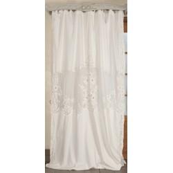 Long Curtain Tubereuse Ivory 130x300