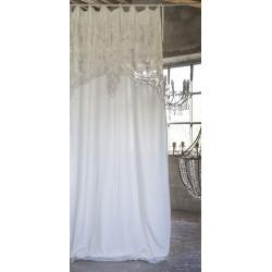 curtain ecru Almond 140 x 290 cm with nodes