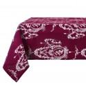 Table cloth Ballade Burgundy 150 x 260 cm