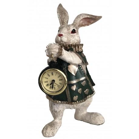 Rabbit with clock