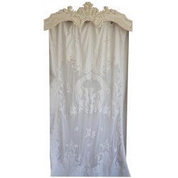 Long curtain Hermine Ivory 130 x 300 cm