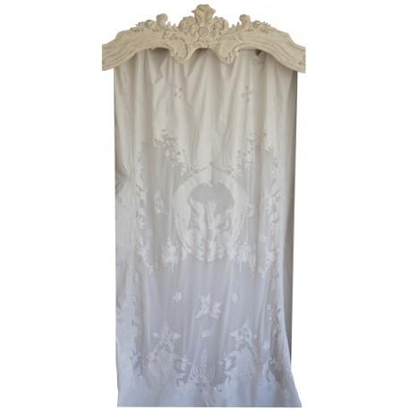 Long curtain Hermine Ivory 130 x 300 cm
