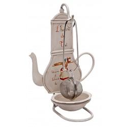 Support de pince à thé
