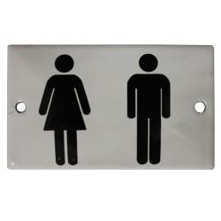 Plaque de toilettes Homme/Femme