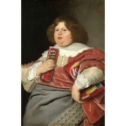 Portrait du mangeur de chips 30 x 40 cm