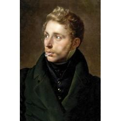 Portrait du gentilhomme à la sucette 30 x 40 cm