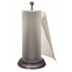 Dérouleur de papier essuie tout couleur zinc