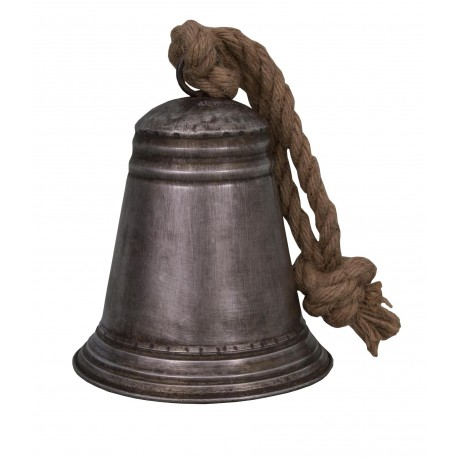 Decorative zinc bell