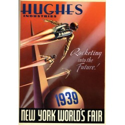 Affiche World Fair New York 1939 format 30 x 40 cm