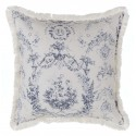 Queen Mary cushion with fringe 45 x 45 cm