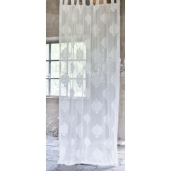 Jacquard curtain with loops 150 x 290 cm
