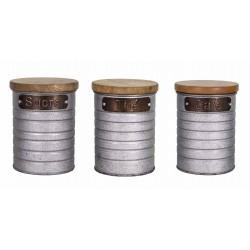 Set 3 pots Thé-Café-Sucre