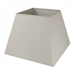 Camel linen square lampshade