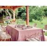 English Rose 60% linen/40% cotton tablecloth 140 x 250 cm