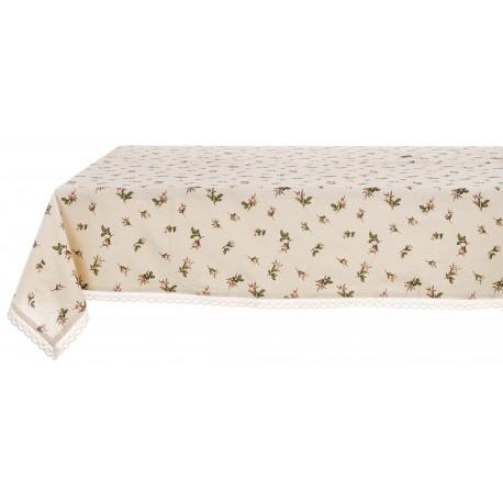 Bocciolo tablecloth with frill 150 x 220 cm