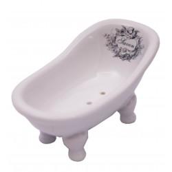 Bathtub angel decor soap dish