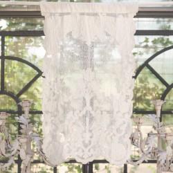 "Linen window curtain ""Claque"" 45 x 70 cm"